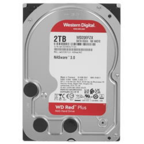 2 ТБ Жесткий диск WD Red Plus [WD20EFZX]