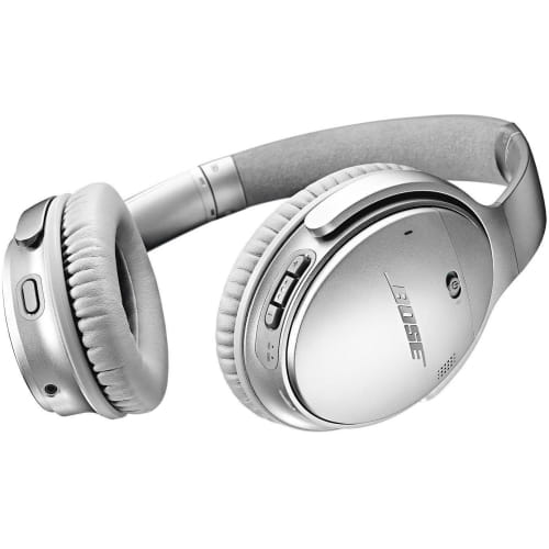 Наушники BOSE QuietComfort 35 II wireless,789564-0020, QC35 II, серебристый