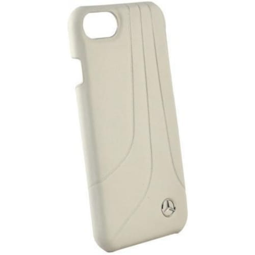 Чехол Mercedes для iPhone 7 Plus/8 Plus Bow ll Hard Leather Grey MEHCP7LHLCAGR