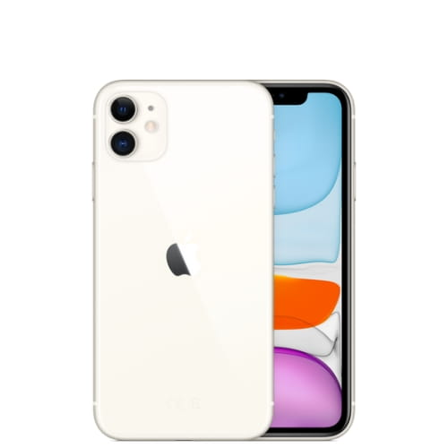 Смартфон Apple iPhone 11, 64Гб, белый