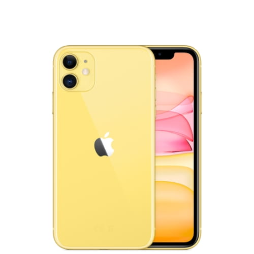 Смартфон Apple iPhone 11, 64Гб, желтый