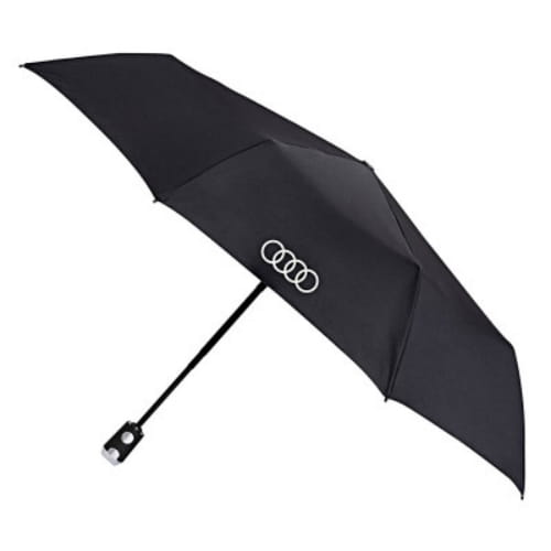 Складной зонт Audi Pocket Umbrella, Knirps, Black, 3121900200
