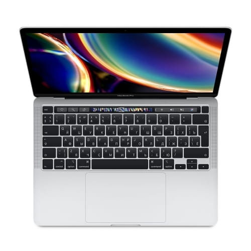 "Ноутбук 13"" Apple MacBook Pro with Touch Bar (2020) MXK72RU/A: Intel Core i5, 8Gb DDR3, SSD 512GB - серебристый (silver)"