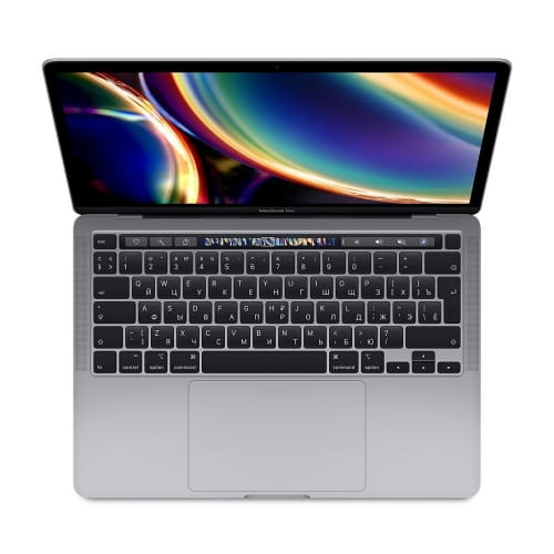 "Ноутбук 13"" Apple MacBook Pro with Touch Bar (2020) MWP42RU/A: Intel Core i5, 16Gb DDR4, SSD 512GB - серый космос (space grey)"
