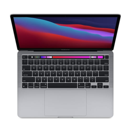 "Ноутбук 13"" Apple MacBook Pro with Touch Bar (2020) MYD82RU/A: Apple M1, 8Gb DDR4, 256GB SSD  - серый космос (space grey)"