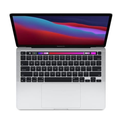 "Ноутбук 13"" Apple MacBook Pro with Touch Bar (2020) MYDA2RU/A: Apple M1, 8Gb DDR4, 256GB SSD  - серебристый (silver)"