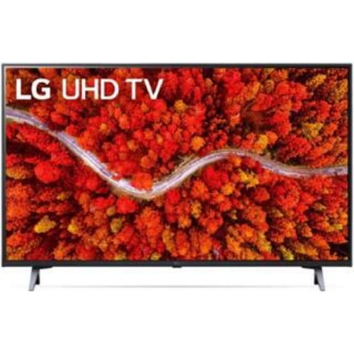 "43"" (109 см) Телевизор LED LG 43UP80006LA черный"