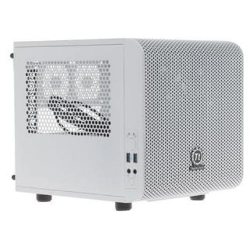 Корпус Thermaltake Core V1 Snow [CA-1B8-00S6WN-01] белый